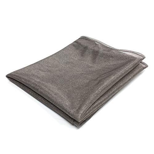 EMF Scarf 5G Radiation Protection Anti RF Safe Clothing Shielding Silver Fabric (SILVER STU)