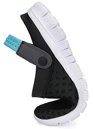 Hombres Zuecos Mujeres Zapatillas de Playa Malla Respirable Zapatos Enfermera Verano Ahueca hacia Sandalias Azul 39 EU