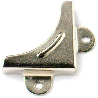 Bulk Hardware BH00074 Vernickelte Spiegelecken (Packung à 8)