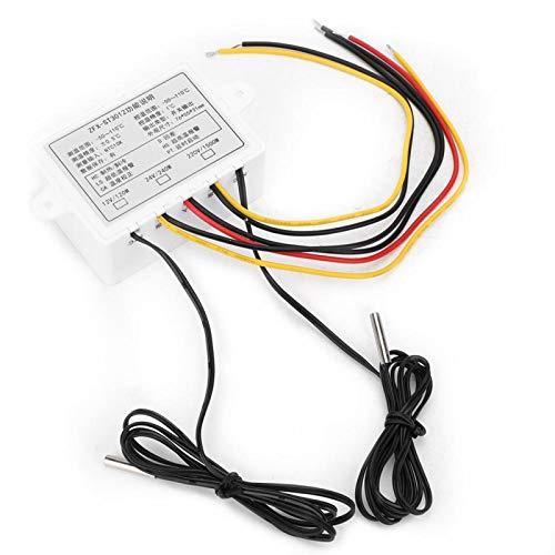 KUIDAMOS Instrumento Controlador de Temperatura Digital Inteligente ZFX-ST3012, termostato de microordenador eléctrico de Pantalla Dual(24 V CC)