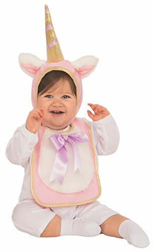 Rubies - Disfraz Babero sombrero unicornio bebé