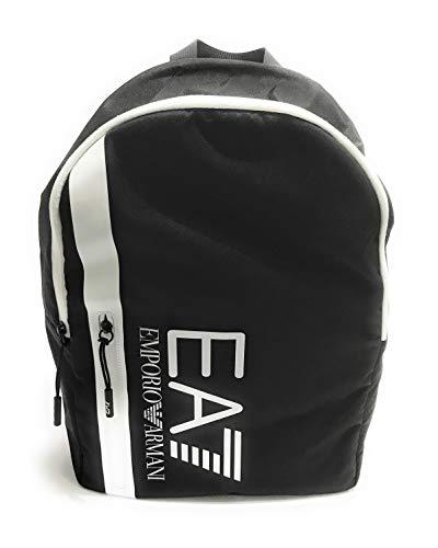 EMPORIO ARMANI 7 Borsa zaino uomo U backpack nylon nero UB21EA07