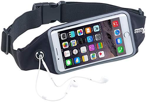 Xcase Handy Gürtel: Wasserfester Sport-Laufgürtel für Smartphones, iPhones, Touch-Fenster (Handygurt)