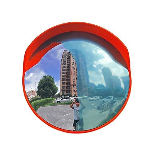 ZhanMaAZ Eckspiegel Außenweitwinkelobjektiv Straßenspiegel Parkplatz Drehspiegel Antikollisions-Diebstahlspiegel (Size : 30cm)