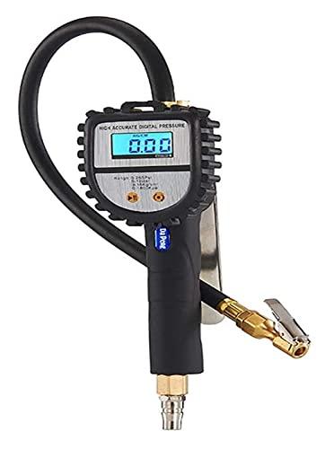 WDX- Medidor de presión de neumáticos digitales Cuatro en una carga y prueba de cúmedol de prueba Pistola neumática Neumático Neumático Uso para todos los vehículos Medidor de presión de neumáticos Pr
