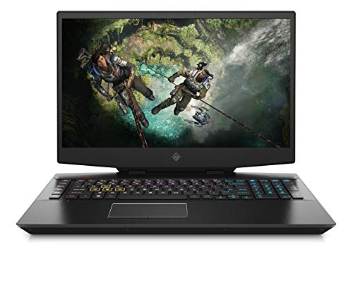 OMEN 17-cb1273ng (17,3 Zoll / FHD IPS 144Hz) Gaming Laptop (Intel Core i7-10750H, 16GB DDR4 RAM, 1TB HDD, 512GB SSD, Nvidia GeForce RTX 2070 8GB GDDR6, WiFi6, Bluetooth 5, Windows 10) schwarz