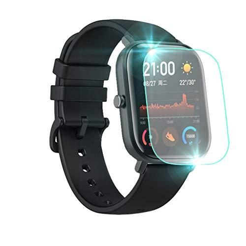 Für Huami AMAZFIT GTS Smart Watch Schutzfolie,Colorful Soft Hydrogel Schutzfolie HD Ultra-klare Transparenz TPU Displayfolie für AMAZFIT GTS Smart Watch (1 Stück)