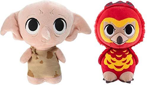 Funko Supercute Plush: Harry Potter - Dobby and Fawkes Plush Figures - Set of 2