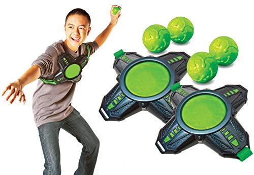 Diggin Slimeball Dodgetag Game Set. Slime Dodge-Balls & Target Tag Vests For Kids