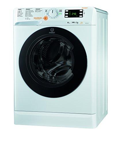 Indesit XWDE 961480X W Lavadora-secadora, 62 litros, Blanco