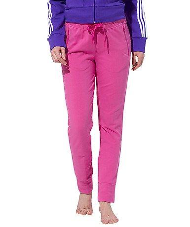 Adidas trainingsbroek broek VRV slim broek dames roze loopbroek fitnessbroek sportbroek (34)
