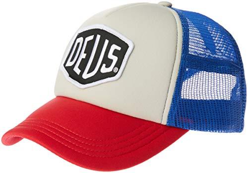 Deus Ex Machina Baylands Trucker Cap–Blue/Red