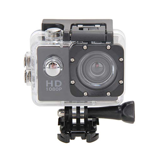 prasku 1080Pスポーツカムアイポーツカメラビデオ防水120°広角レンズ