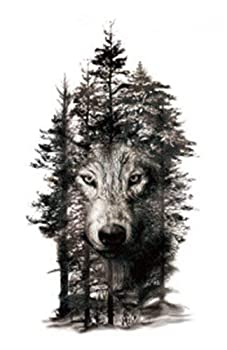 Best two wolf tattoos Reviews