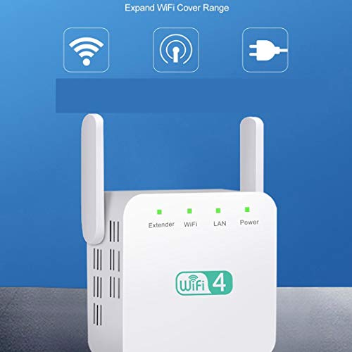 Caeasar 300M WiFi Range Extender Dual Antena WiFi Repeater WiFi Signal Booster Repetidores