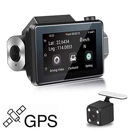 CAR 3 pulgadas 140 Grados Gran angular Mini Full HD 1080P 3G Video ...