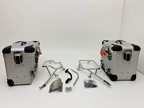 Bolsas laterales de aluminio SIDE BAGS originales compatibles con Ducati Multistrada 950 Enduro 1200 1260