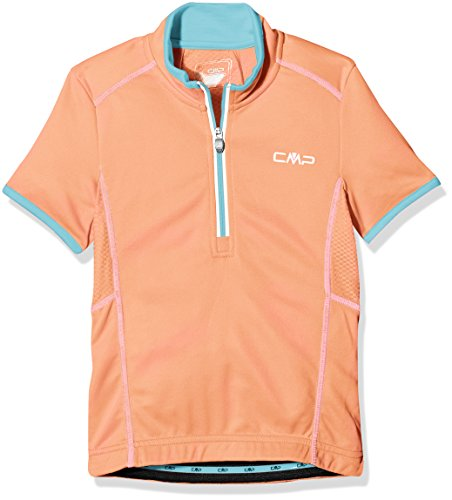 CMP Jungen 3C89554T Rad Trikot, Peach, 140