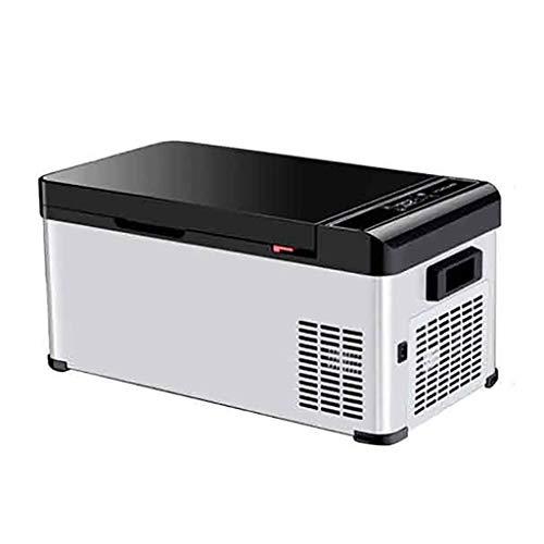 MYPNB 15L Portatile Frigorifero compressore congelatore Veicolo Compatto Auto Mini Frigo Camion del Dispositivo di Raffreddamento Elettrico della (Color : 12v 24v 220v Car Dualuse)