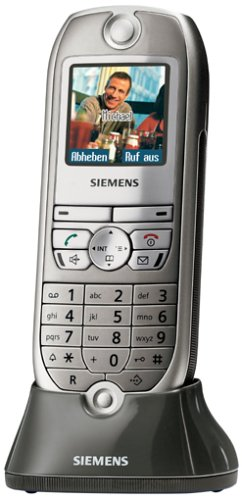 Siemens Gigaset SL74 titanium Mobilteil inkl. Ladeschale