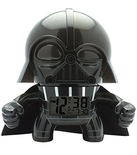Reloj Despertador Star Wars Darth Vader con Luz 7.5' 2020008 BulbBotz