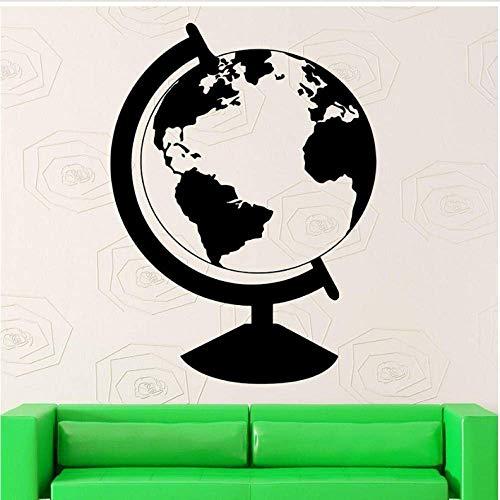 Pegatinas de pared, globo extraíble decoración de arte para el hogar sala de estar calcomanía cocina restaurante pub decoración de la pared mural 42x56 cm