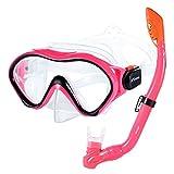 KUYOU Snorkel Set for Kids,Dry Top Snorkel Mask -...