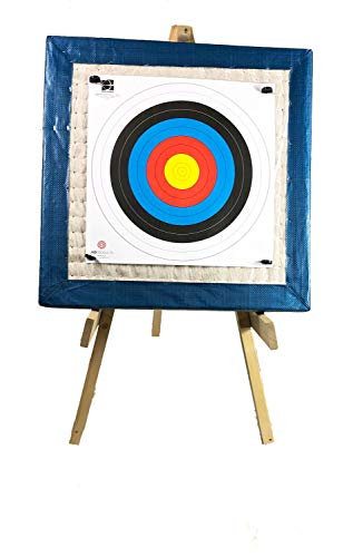 Archery Straw Target Package With 90cm Target, Stand, Faces & Pins