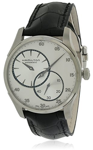 Uhr Hamilton Jazzmaster Regulateur Leder Herren H42615753