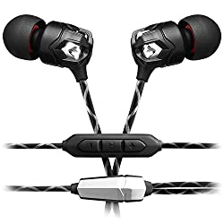 V-MODA Zn In-Ear Modern Audiophile Headphones with microphone