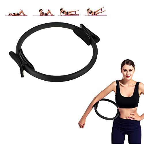 MAGIC SELECT Cerchia di Pilates - Anello per Pilates - Anello per Impugnatura Doppia per Pilates - Cerchio Fitness - per Resistenza, Palestra, rafforzamento da Donna. Diametro 37,5cm (P1622)