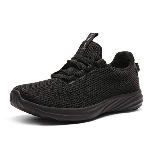 DREAM PAIRS Women's All Black Lightweight Running Tennis Shoes Athletic Work Sneakers Size 10 M US DHF19001L