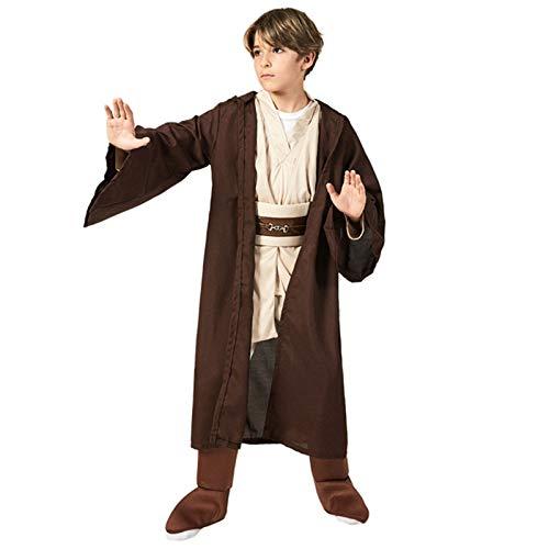 NHP Cosplay para nios de Personajes clsicos de Guerreros Jedi, Disfraz de actuacin de Escenario de Halloween