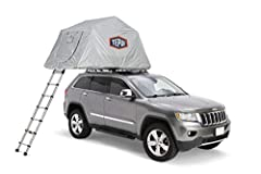 Protects your rooftop tent from inclement weather Reflective thermal hood made of 150T rip stop polyester and Oxford fabric that is UV resistant and flame retardant with a 2000mm waterproof rating