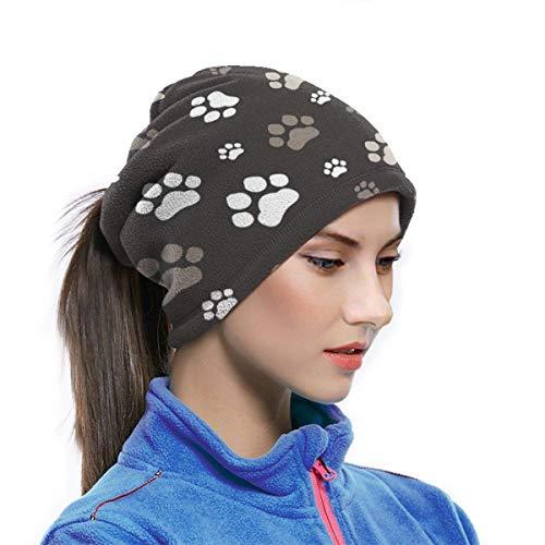 Trista Bauer Bandana Gesichts Schal Staub Wind UV Sonnenschutz Hals Gamasche Rohr Kopfbedeckung Hundepfoten