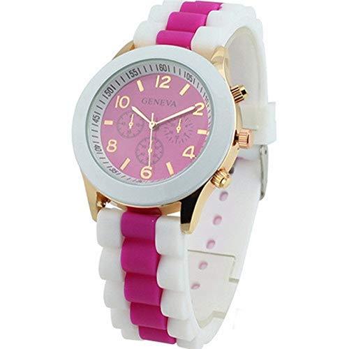Reloj para Niña Relojes de las mujeres rosadas muchachas reloj del deporte...