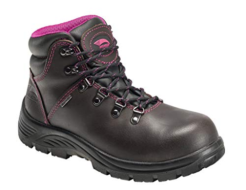 FSI Avenger Women's 6' Framer Steel Waterproof Leather Slip Resistant...