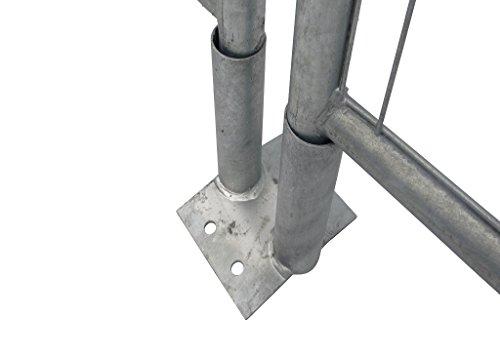 Bauzaun Bodenplatte (klein) - Abmessung: ca. 130 x 180 mm