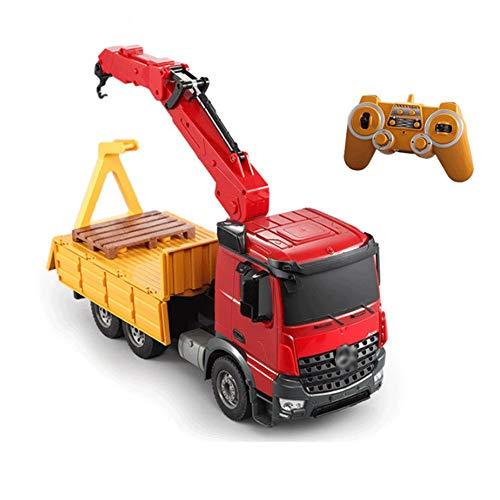 Wangch Control remoto simulación grúa montada en camiones Bigfoot fuera de la...