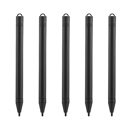 ASHATA Penna Stilo LCD, 5 Stilo LCD da 8,5 pollici/12 Pollici per Touchscreen, Penna tavoletta Grafica Professionale, Adatta per tavoletta da Scrittura da 8,5 pollici/12 Pollici