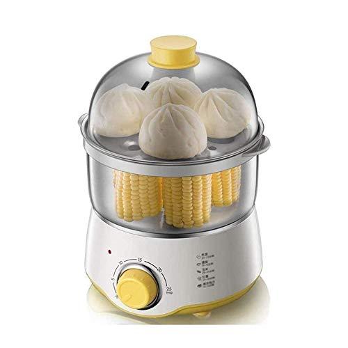 XJJZS 360W Capacidad Multifuncional Huevo eléctrico de la Caldera de Acero Inoxidable en seco Prevención Burning Cocina la Herramienta