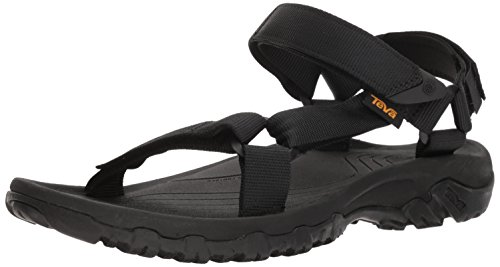 Teva Men's M Hurricane 4 Sport Sandal, Black, 11 M US