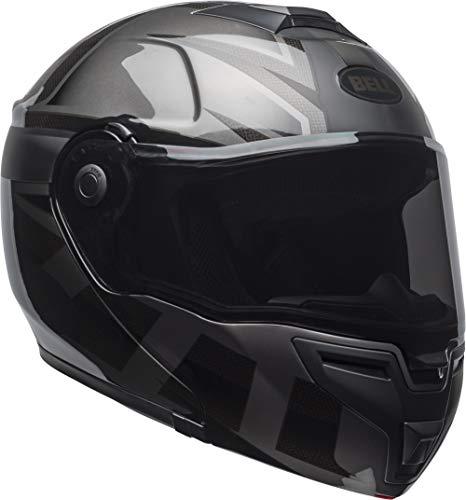 Bell SRT Modular Street Motorcycle Helmet(Matte/Gloss Blackout, Large)