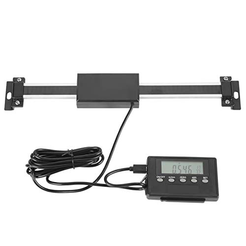 Digital Readout Kit Precision Linear Scale Encoder Digital Readout DRO Remote LCD Install fittings Aluminum Alloy For Milling Cutting Machines or Lathes 0‑150mm