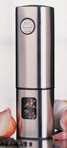 OUTDOORCHEF Cole und Mason H621820 Manhattan Elektromühle 18 cm, Edelstahl