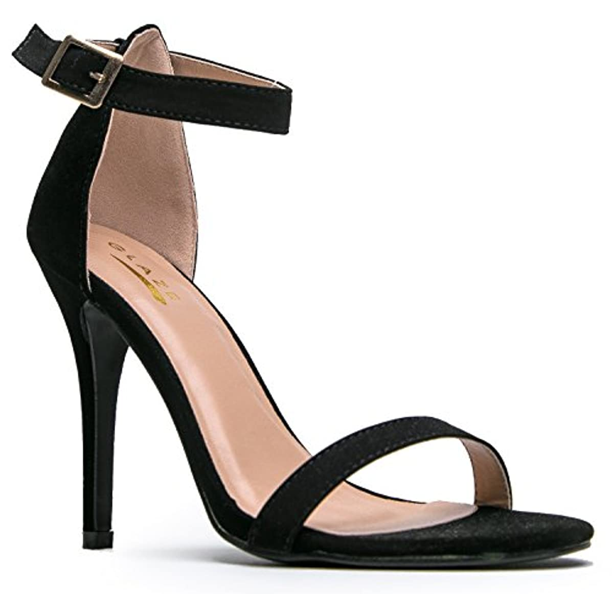 Womens Ankle Strap High Heel - Dress Wedding Party Sandal - Basic Pump Low Heel Marvel J. Adams
