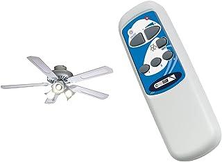 Farelek Baleares Ventilateur de plafond 132 cm Blanc & 112596 Telecommande pour ventilateur de plafond