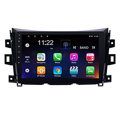 TIANDAO Android 10.0 Radio Satelital para Automóvil Reproductor Multimedia Autoradio 2.5D Navegador GPS para Nissan Terra 2016-2018 Soporte WiFi Bluetooth/Control del Volante(Color:WiFi 4G+64G)