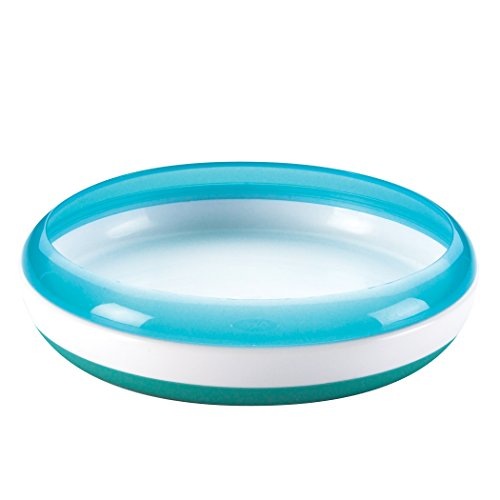 OXO Tot Training Plate (Aqua)
