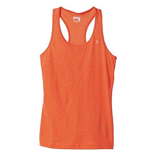 adidas Aerok Tank T-Shirt pour Femme S Arancione (Ccmels)
